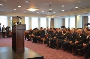 Przed oficjalnym rozpoczęciem spotkania z Prezydentem Josipovicem.